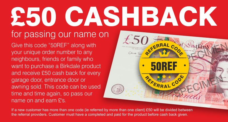 Warranty Refferal - £50 Cashback