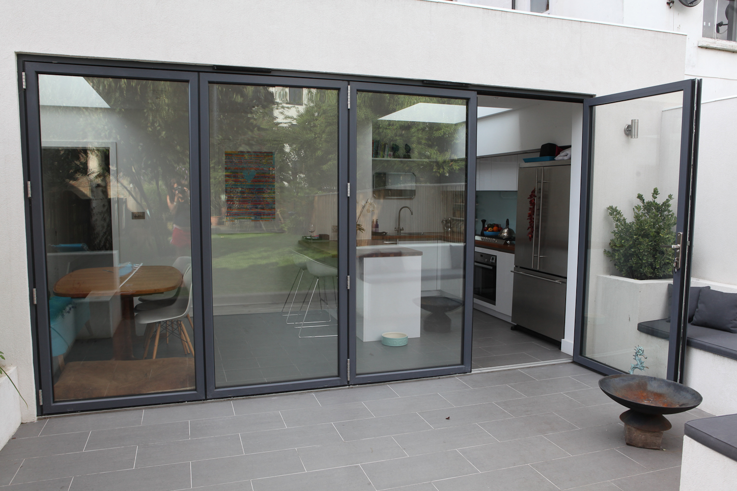 Bi Folding Door Aluminum
